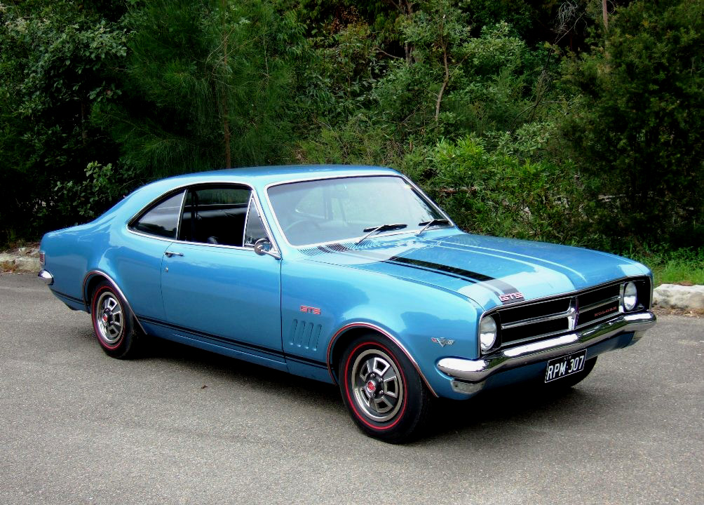 1969 Holden Monaro. Stock image. Click on image to open in a larger window.
