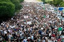 This image from the streets in Tehran does not look like isolated protesters to me.