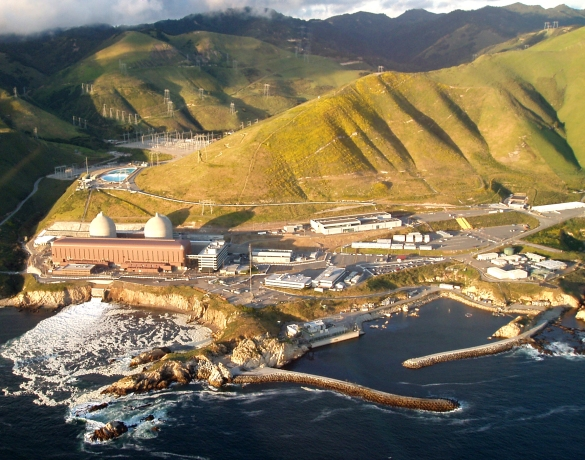 Diablo Canyon Power Plant. Image credit marya, and it is a Commons image.