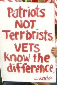 Patriots Not Terrorists