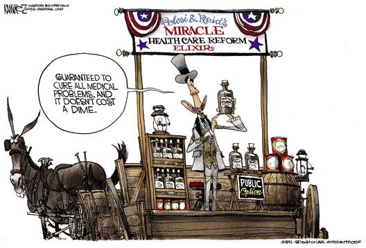 Pelosi and Reid - Miracle Healthcare Reform Elixir