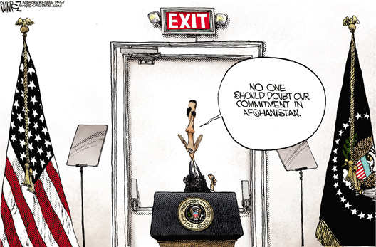 Obama Commitment in Afghanistan