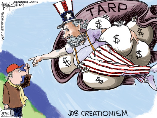 TARP - Job Creationism
