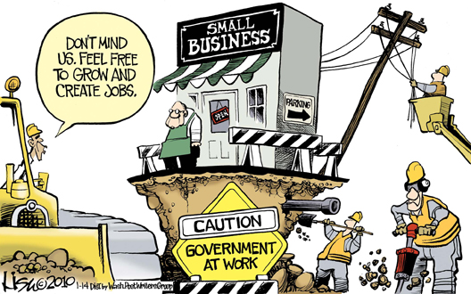 Obama Undermines Small Business