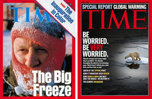 Time Magazine - Big Freeze = Global Warming?