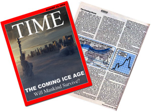 Time Magazine- Ice Age 1974