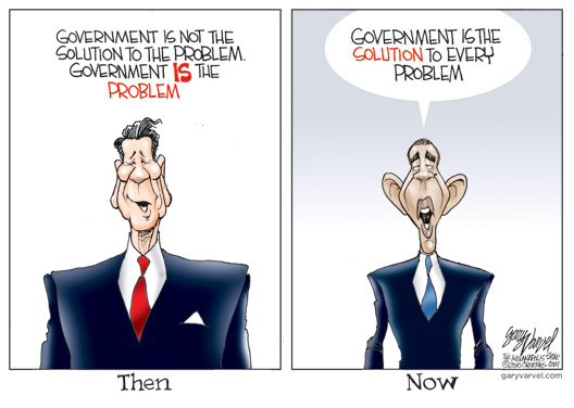 Then Now Cartoon