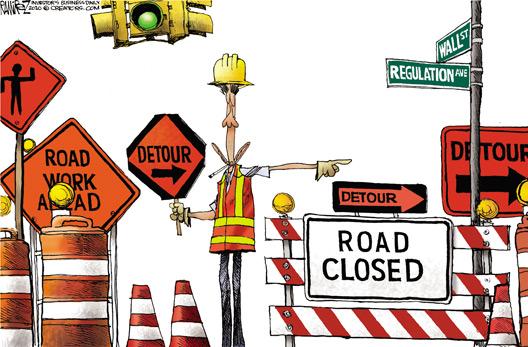 Wlal St Regulation Detour