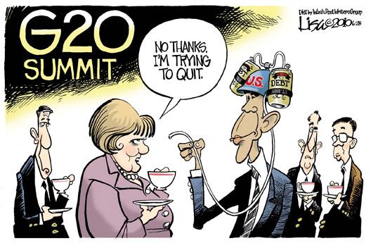 G20 Summit Bafoon