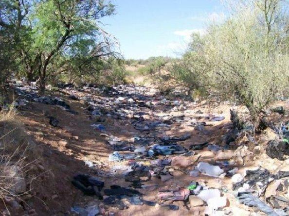 AZ Illegal Smugglers Super-Highway 001