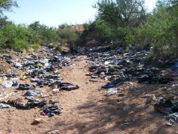 AZ Illegal Smugglers Super-Highway 002