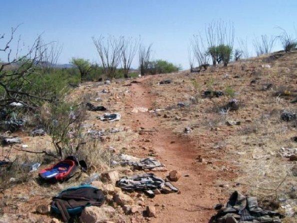 AZ Illegal Smugglers Super-Highway 005