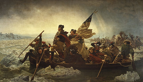 George Washington Crossing the Delaware River