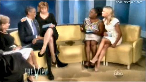 Obama On TV Show - The Vision
