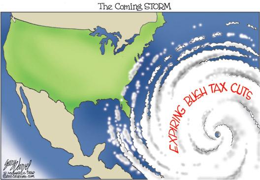 The Coming Storm Cartoon