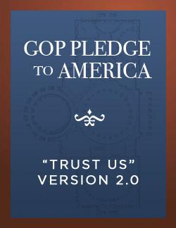 GOP Pledge