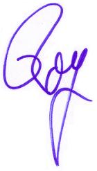 Roy's Signature