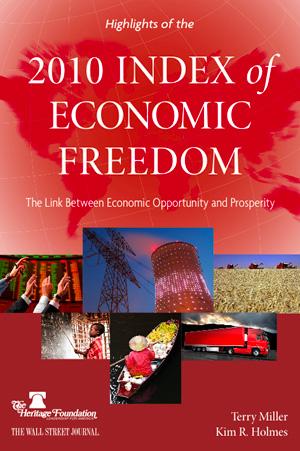2010 Index Of Economic Freedom