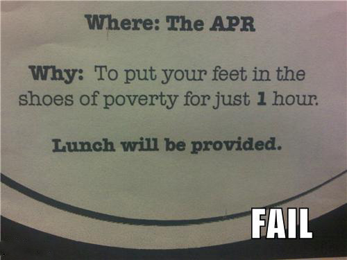 Poverty With Lunch