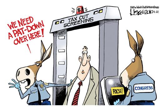 Pat Down Request Cartoon