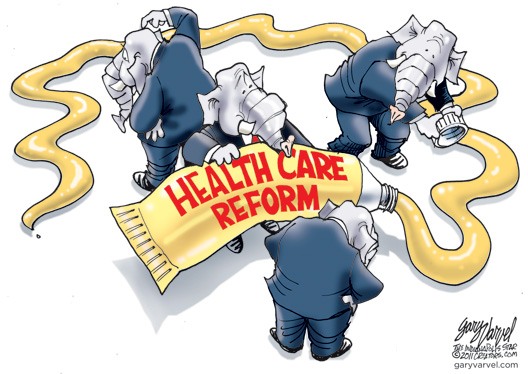 Health Care Reform Cartoon