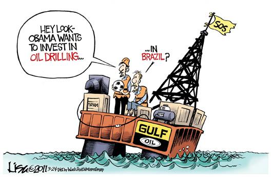 Obama Invest In Oil.....In Brazil......