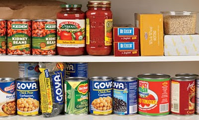 Pantry with Cans
