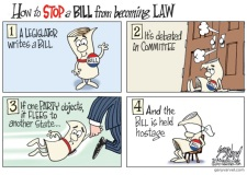 How To Stop A Bill Cartoon