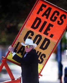 Westboro ringleader Fred Phelps
