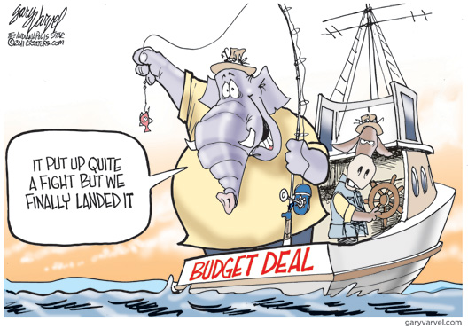 Budget Deal Cartoon