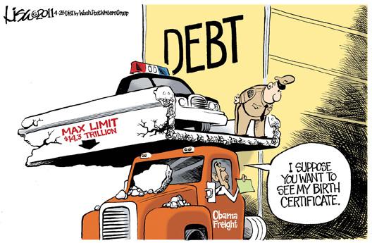 Debt Cartoon