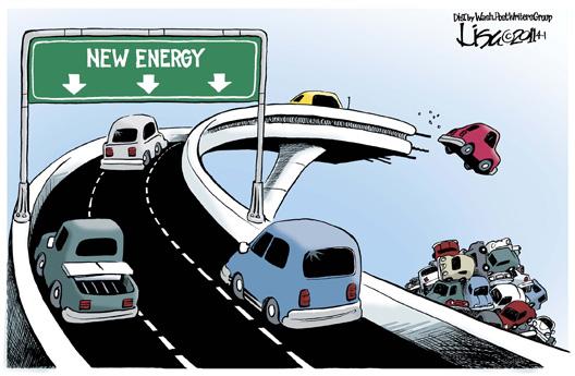 New Energy Downfall