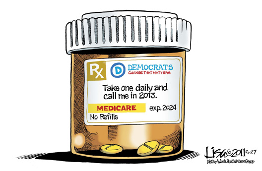 Democrates RX Cartoon