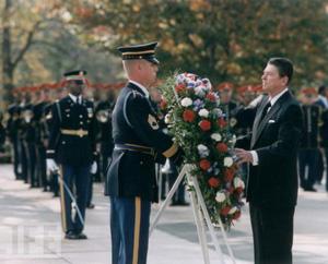 Reagan At Tome