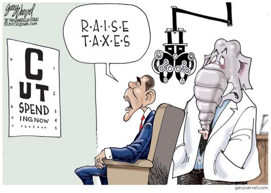 Obama's Eye Test