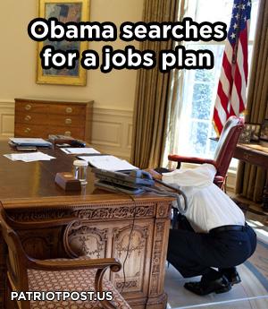 Obama Ducks Under Desk
