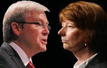 Kevin Rudd, And Julia Gillard.
