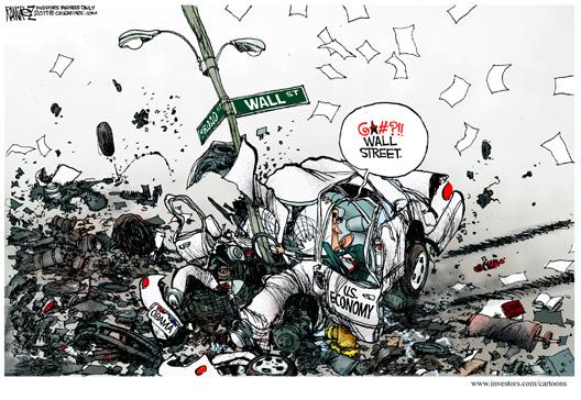 Obama Curses Wall St