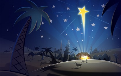 Christ birth star