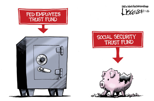 Fed Employee Trust FundV. SS Trust Fund