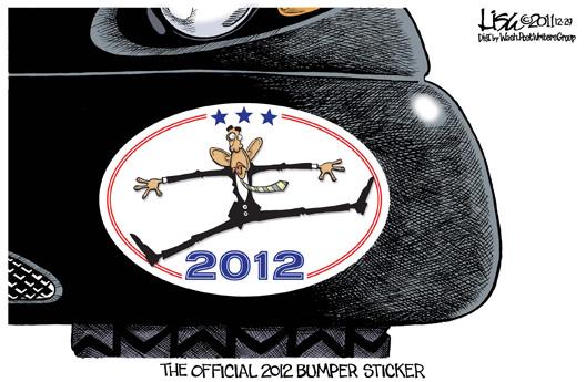 The Official 2012 Bumper Sticker