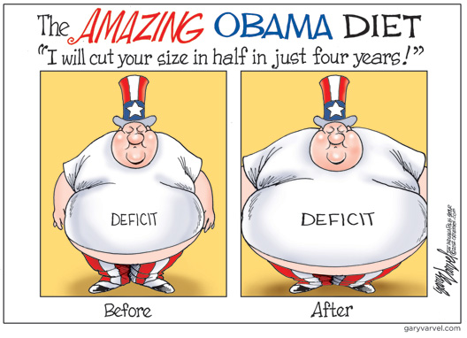 The Amazing Obama Diet