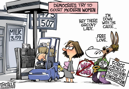 Democrats Try To Cout Modern Women