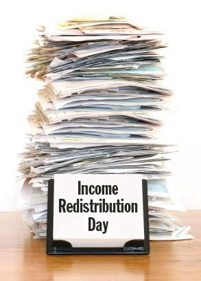 Income Redistribution Day
