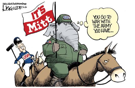 It's Mitt