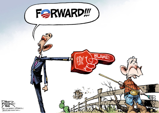 Forward Blam Bush