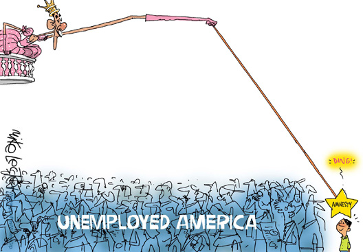 Amnesty and UnemployedvAmerica