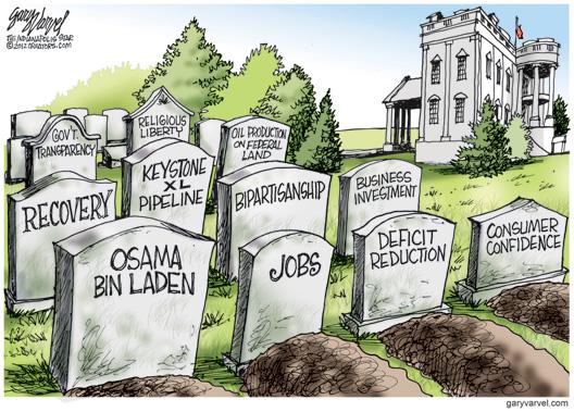 Obama Grave Yard