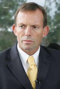 Australian Leader Of The Opposition Tony Abbott