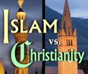 Islam VS. Christianity: This two popular religions both preach peace, and both war against each other. Religion is division.
